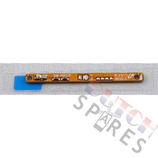 Samsung N910F Galaxy Note 4 Zijtoetsen Flex Kabel Contact, GH59-14238A, B