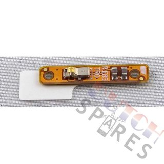 Samsung N910F Galaxy Note 4 Side Key Flex Cable Contact, GH59-14237A, A