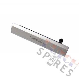 Sony Xperia Z2 Speicherkarten Abdeckung, Weiß, 1284-6789