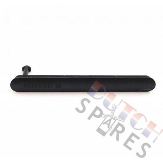 Sony Xperia Z3 Memory Card Cover, Black, 1282-1774