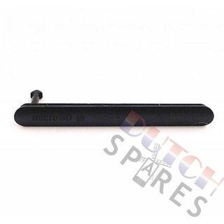 Sony Xperia Z3 SIM+SD Abdeckung, Schwarz, 1282-1774