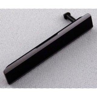 Sony Xperia Z1 (L39H C6903) Sim Card Cover, Black, 1272-0142