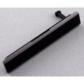 Sony Xperia Z1 (L39H C6903) Sim Card Cover, Schwarz, 1272-0142