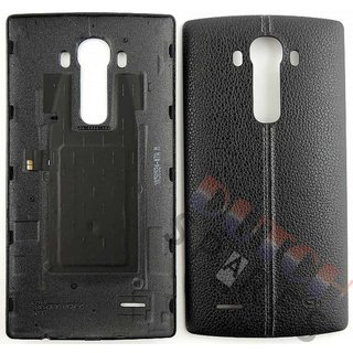 LG H815 G4 Akkudeckel , Schwarz, ACQ88373051