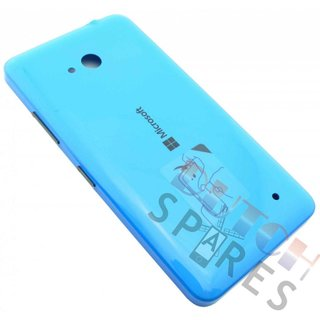 Microsoft Lumia 640 Back Cover, Cyan (glossy), 02509R9