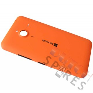 Microsoft Lumia 640 XL Back Cover, Orange (Matted), 02510P9