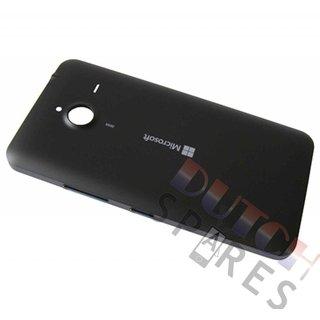 Microsoft Lumia 640 XL Achterbehuizing, Zwart (Mat), 02510Q0