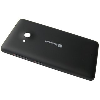 Microsoft Lumia 535 Back Cover, Schwarz, 8003489