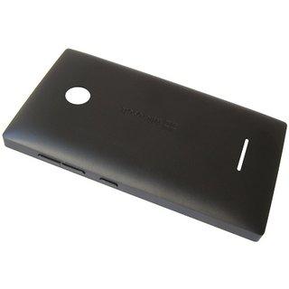 Microsoft Lumia 435 Achterbehuizing, Zwart, 02508T6