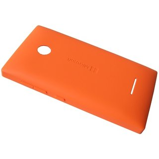 Microsoft Lumia 435 Achterbehuizing, Oranje, 02508V0