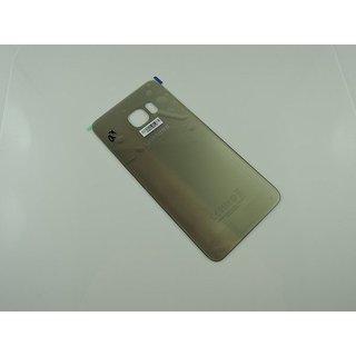 Samsung G928F Galaxy S6 Edge+ Akkudeckel , Gold, GH82-10336A