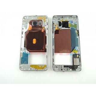 Samsung G928F Galaxy S6 Edge+ Mittel Gehäuse, Schwarz, GH96-09079B