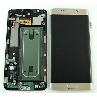 Samsung G928F Galaxy S6 Edge+ LCD Display Modul, Gold, GH97-17819A