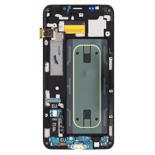 Samsung G928F Galaxy S6 Edge+ LCD Display Modul, Silber, GH97-17819D