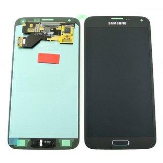 Samsung G903F Galaxy S5 Neo LCD Display Modul, Schwarz, GH97-17787A