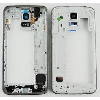 Samsung G903F Galaxy S5 Neo Middenbehuizing, Goud, GH98-37880B