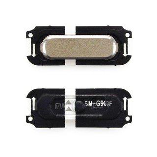 Samsung G903F Galaxy S5 Neo Home Button, Gold, GH98-37883B