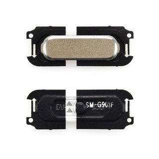 Samsung G903F Galaxy S5 Neo Home Button, Goud, GH98-37883B