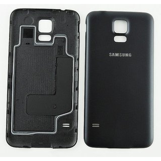 Samsung G903F Galaxy S5 Neo Battery Cover, Black, GH98-37898A