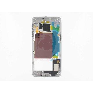 Samsung G928F Galaxy S6 Edge+ Mittel Gehäuse, Silber, GH96-09079D