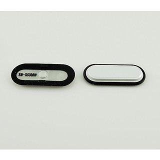 Samsung J500F Galaxy J5 Home Button, White, GH98-35345A