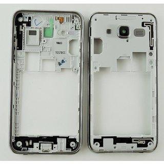 Samsung J500F Galaxy J5 Middenbehuizing, Zilver, GH98-37586A