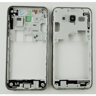 Samsung J500F Galaxy J5 Mittel Gehäuse, Silber, GH98-37586A