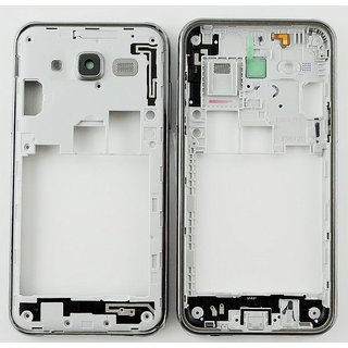 Samsung J500F Galaxy J5 Middenbehuizing, Zwart, GH98-37586C