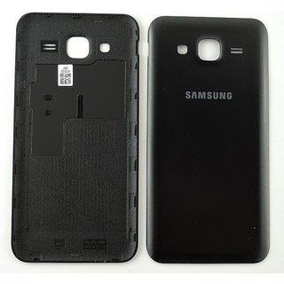 Samsung J500F Galaxy J5 Battery Cover, Black, GH98-37588C
