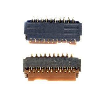 Samsung I9060i Galaxy Grand Neo Plus Board Connector BTB Sockel, 3708-002222, FPC/FFC/PIC