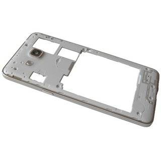 Samsung G530F Galaxy Grand Prime Middenbehuizing, Wit, GH98-35697A