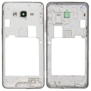 Samsung G531F Galaxy Grand Prime VE Middenbehuizing, Grijs, GH98-37503B