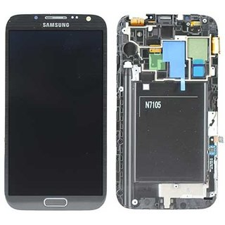 Samsung Galaxy Note II LTE N7105 LCD Display Module, Brown, GH97-14114C