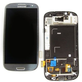 Samsung i9150 Galaxy Mega 5.8 LCD Display Module, Black, GH97-14757B