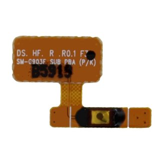 Samsung G903F Galaxy S5 Neo Power key flex cable, GH96-08940A