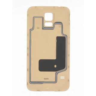 Samsung G903F Galaxy S5 Neo Battery Cover, Gold, GH98-37898B
