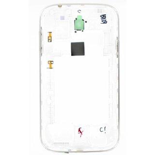 Samsung I9060i Galaxy Grand Neo Plus Middenbehuizing, Wit, GH98-35625A