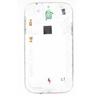 Samsung I9060i Galaxy Grand Neo Plus Middle Cover, White, GH98-35625A