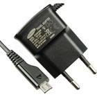 Samsung USB-Oplader J100H Galaxy J1, Zwart, GH44-02149B, 5.0V - 0.7A, ETA0U10EBE