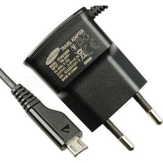 Samsung J100H Galaxy J1 USB-Ladegerät, Schwarz, GH44-02149B, 5.0V - 0.7A, ETA0U10EBE