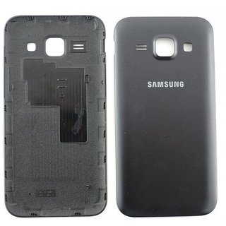 Samsung J100H Galaxy J1 Battery Cover, Black, GH98-36089C; GH98-36516C
