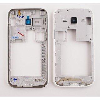 Samsung J100H Galaxy J1 Middenbehuizing, Wit, GH98-36101A