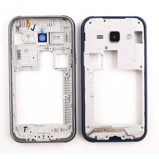 Samsung J100H Galaxy J1 Mittel Gehäuse, Blau, GH98-36101B