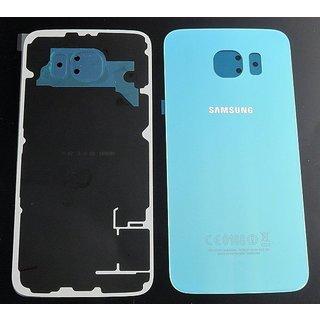 Samsung G920F Galaxy S6 Akkudeckel , Blau, GH82-09548D