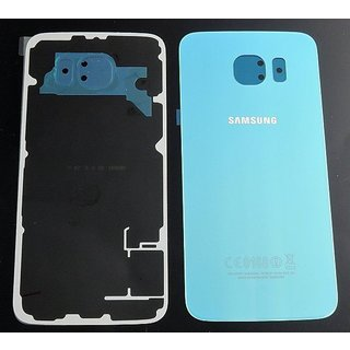 Samsung G920F Galaxy S6 Battery Cover, Blue, GH82-09548D