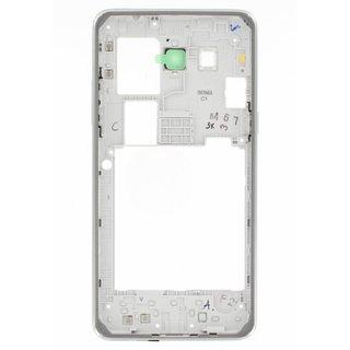 Samsung G530F Galaxy Grand Prime Front Cover Rahmen, Grau, GH98-35754A