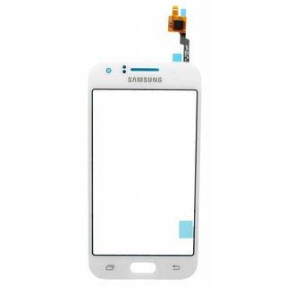 Samsung J100H Galaxy J1 Touchscreen Display, Weiß, GH96-08064B, DUOS
