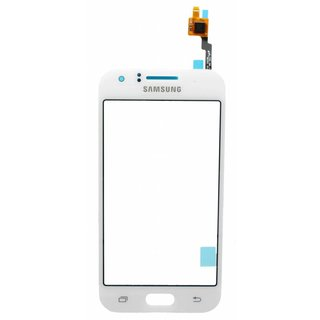 Samsung J100H Galaxy J1 Touchscreen Display, White, GH96-08064B, DUOS