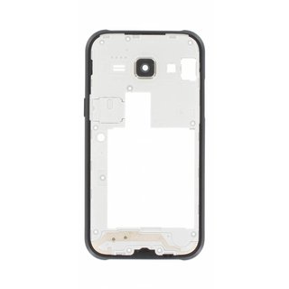 Samsung J100H Galaxy J1 Middle Cover, Black, GH98-36101C