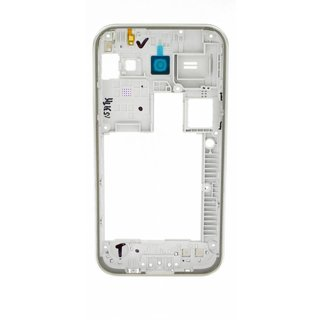 Samsung J100H Galaxy J1 Middenbehuizing, Wit, GH98-36088A, DUOS